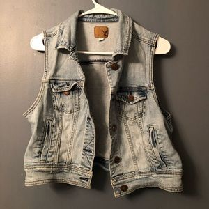 Jean Vest from American Eagle